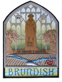 Brundish village sign